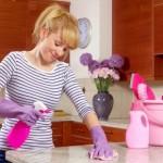 mantendo a casa limpa