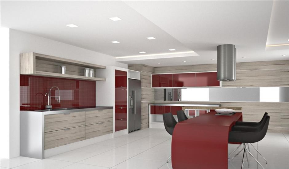 Cozinhas planejadas  Dicas, informações e preços # Cozinha Planejada Pequena Com Vermelho