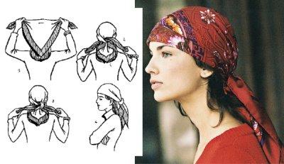 lenço para cabeça