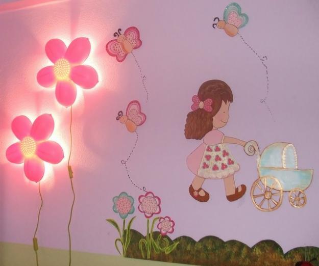 iluminacção de quarto bebê - Foto 3